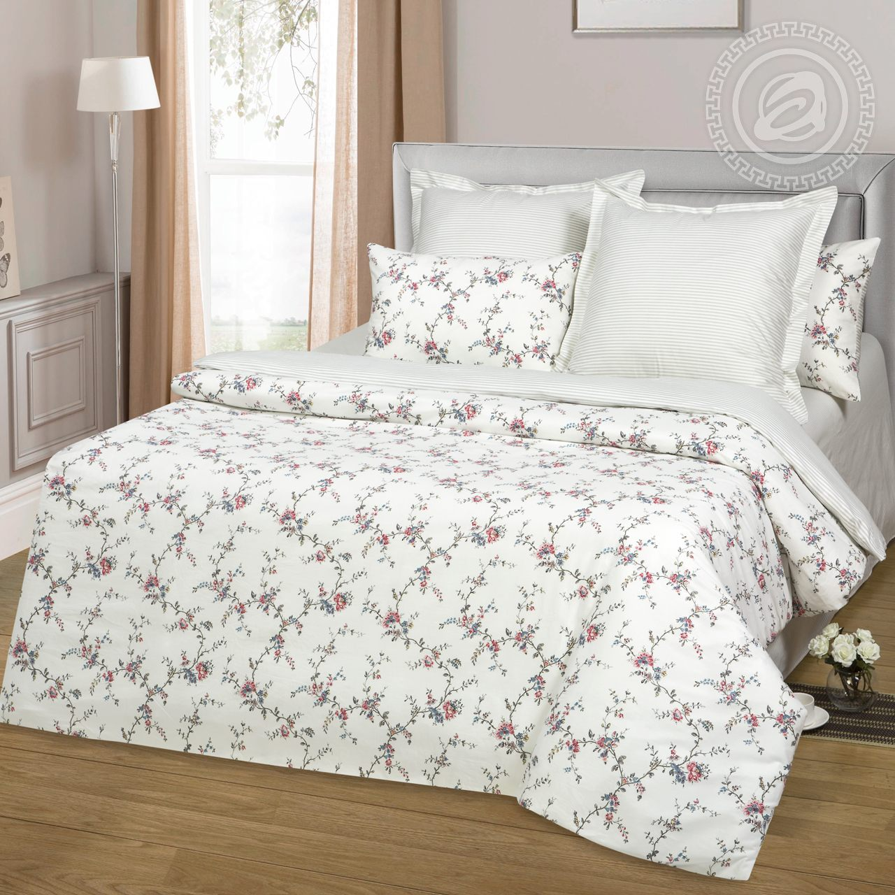 Постельное белье Малбери (сатин) (1,5 спальный) постельное белье орсе сатин 1 5 спальный