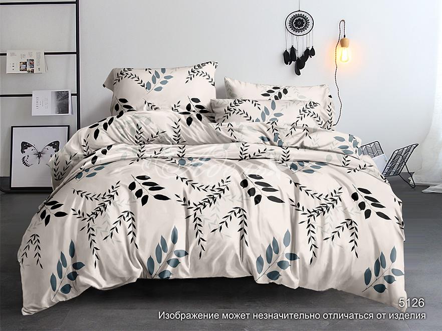 Фото - Постельное белье iv72853 (полисатин) (2 спальный с Евро простынёй) постельное белье iv69910 сатин жаккард 2 спальный с евро простынёй