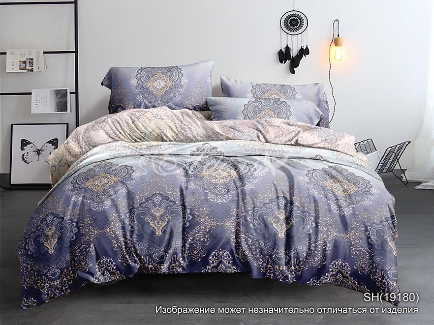 Фото - Постельное белье iv72856 (полисатин) (2 спальный с Евро простынёй) постельное белье iv69910 сатин жаккард 2 спальный с евро простынёй
