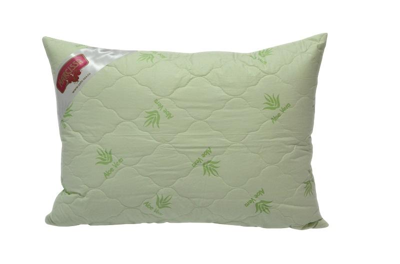 "Подушка на молнии ""Стандарт"" (алоэ-вера, тик) (50*70) restline подушка cotton 50 70"