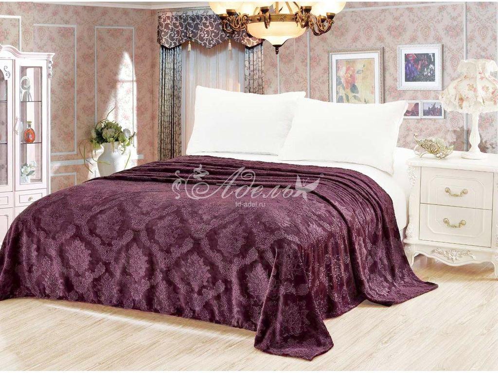цена на Покрывало Пурпур (велсофт) (150х200)