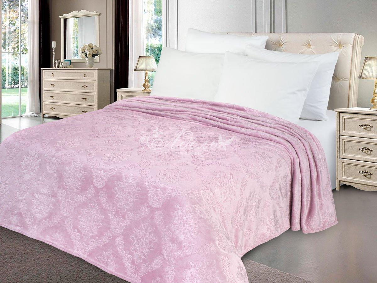 цена на Покрывало Розовый жемчуг (велсофт) (150х200)