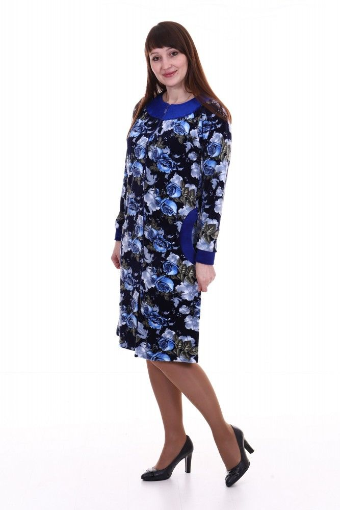 Халат женский #Котрена#, Размер: 52 - Халаты - Теплые халаты