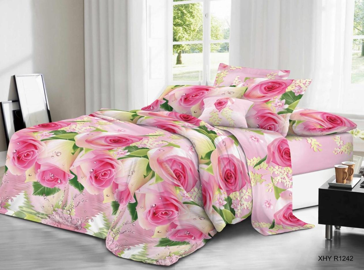 Постельное белье iv63711 (полисатин) (1,5 спальный) постельное белье iv68146 полисатин 1 5 спальный