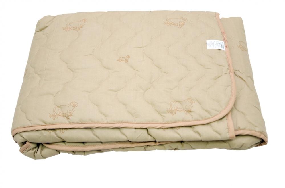 Одеяло детское Алекс (овечья шерсть, микрофибра) (Детский (110*140)) одеяло летнее хорошие сны овечья шерсть тик детский 110 140