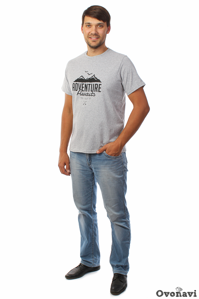 Футболка мужская Глеб (принт: горы) (70) футболка pepe jeans london футболка