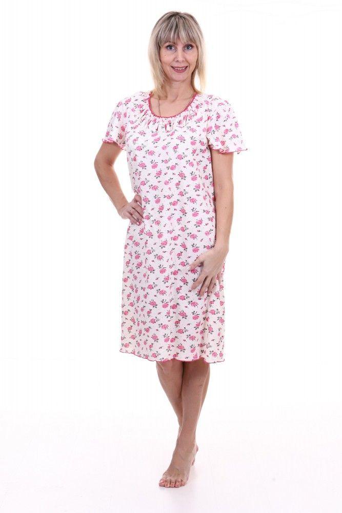Ночная сорочка #Джолиза#, Размер: 54 - Одежда для сна - Сорочки и ночные рубашки
