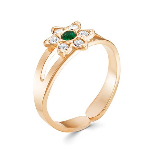 Кольцо бижутерия 2467509з2 (безразмерное) бижутерия в подарок