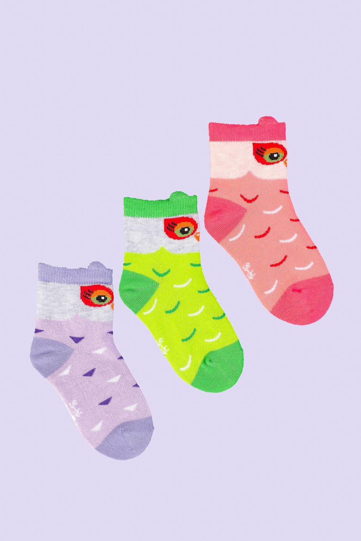 Носки детские Сова (упаковка 3 пары) (14-16) носки детские мяч упаковка 3 пары