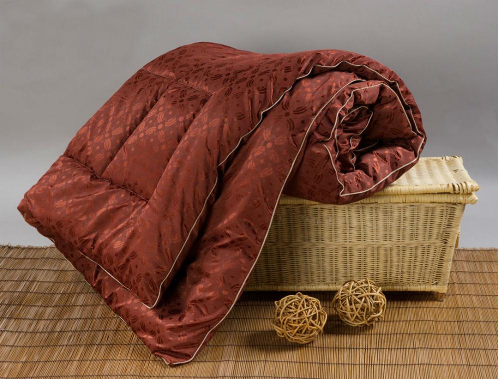 """Одеяло зимнее """"Пробуждение"""" (верблюжья шерсть, трикот) Евро-1 (200*220)"""