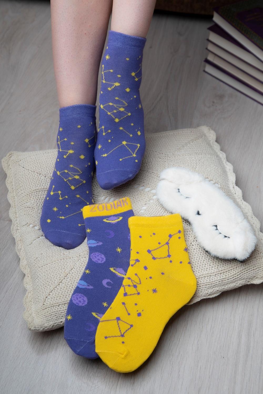 белье acoola носки детские 3 пары цвет ассорти размер 12 14 32224420038 Носки детские iv52996 (упаковка 3 пары) (14-16)