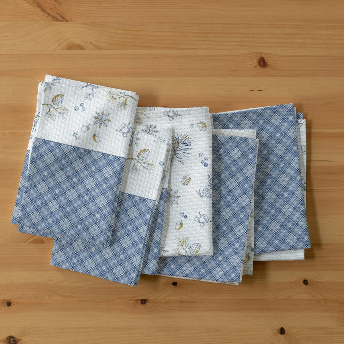 Набор кухонных полотенец iv78425 (упаковка 5 штук) (50х70)