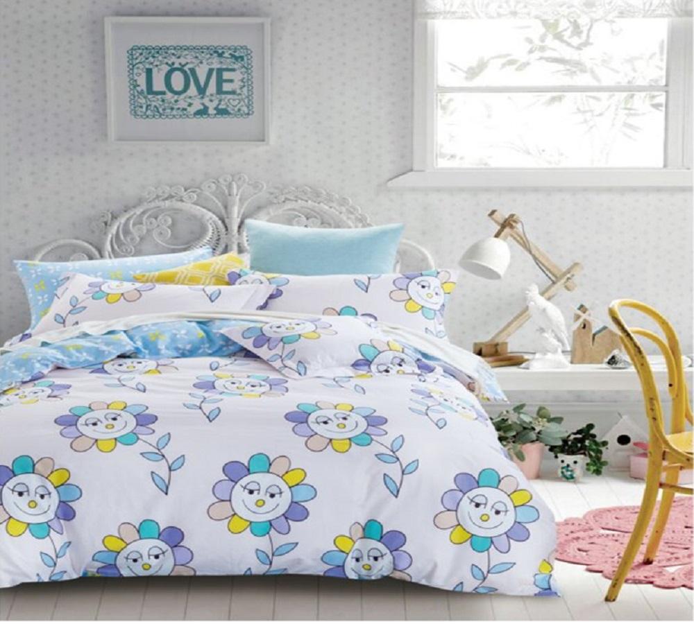 Фото - Постельное белье Цветик-семицветик (сатин) (1,5 спальный) постельное белье этель кружева комплект 2 спальный поплин 2670978