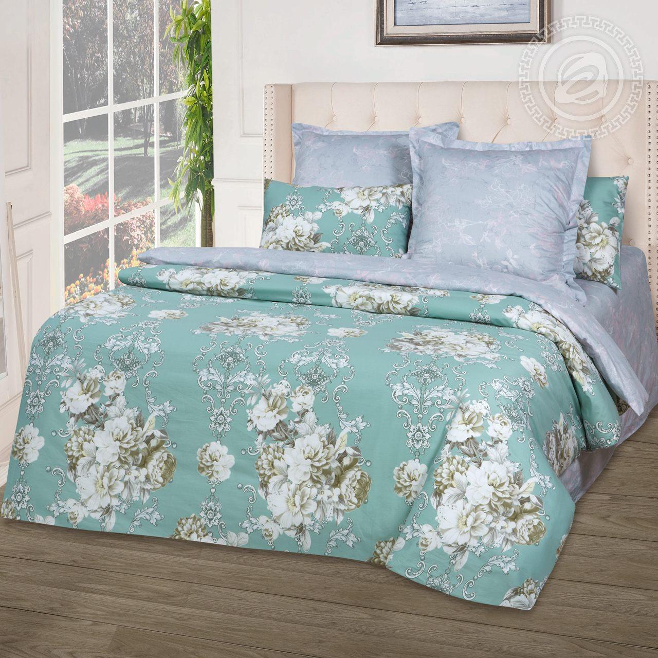 Постельное белье Амель (сатин) (1,5 спальный) постельное белье пузыри сатин 1 5 спальный