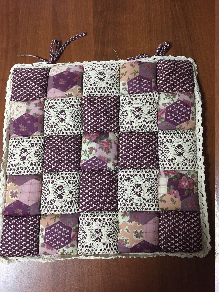 Декоративная подушка Винтаж (брусничный) (40*40) подушка для стульев винтаж коричневый 40 40