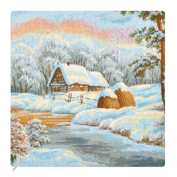 Наволочка декоративная Зимнее утро (50*)