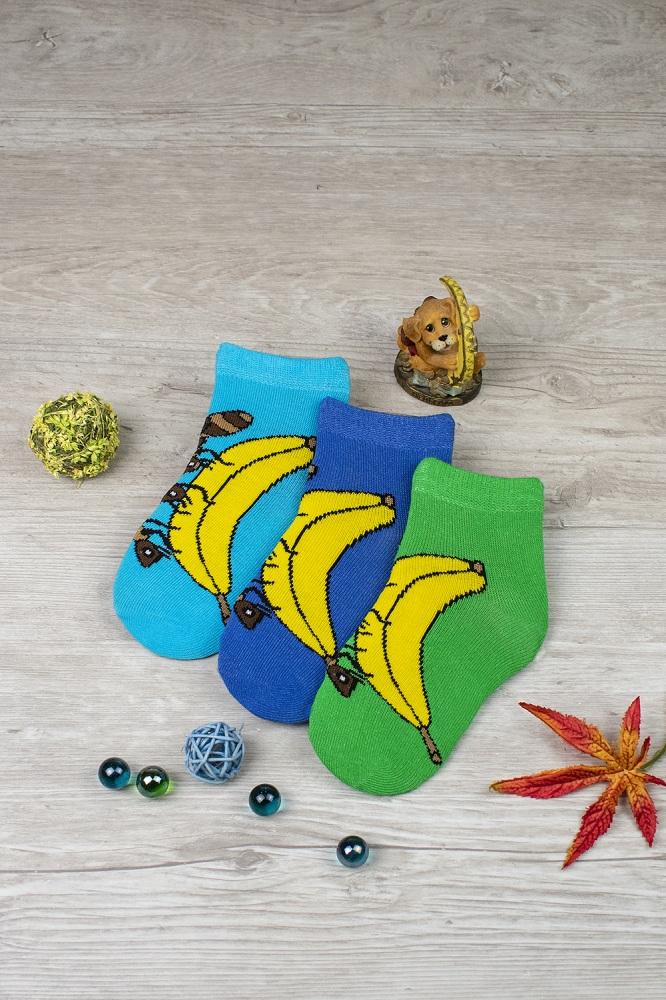 белье acoola носки детские 3 пары цвет ассорти размер 12 14 32224420038 Носки детские iv52693 (упаковка 3 пары)