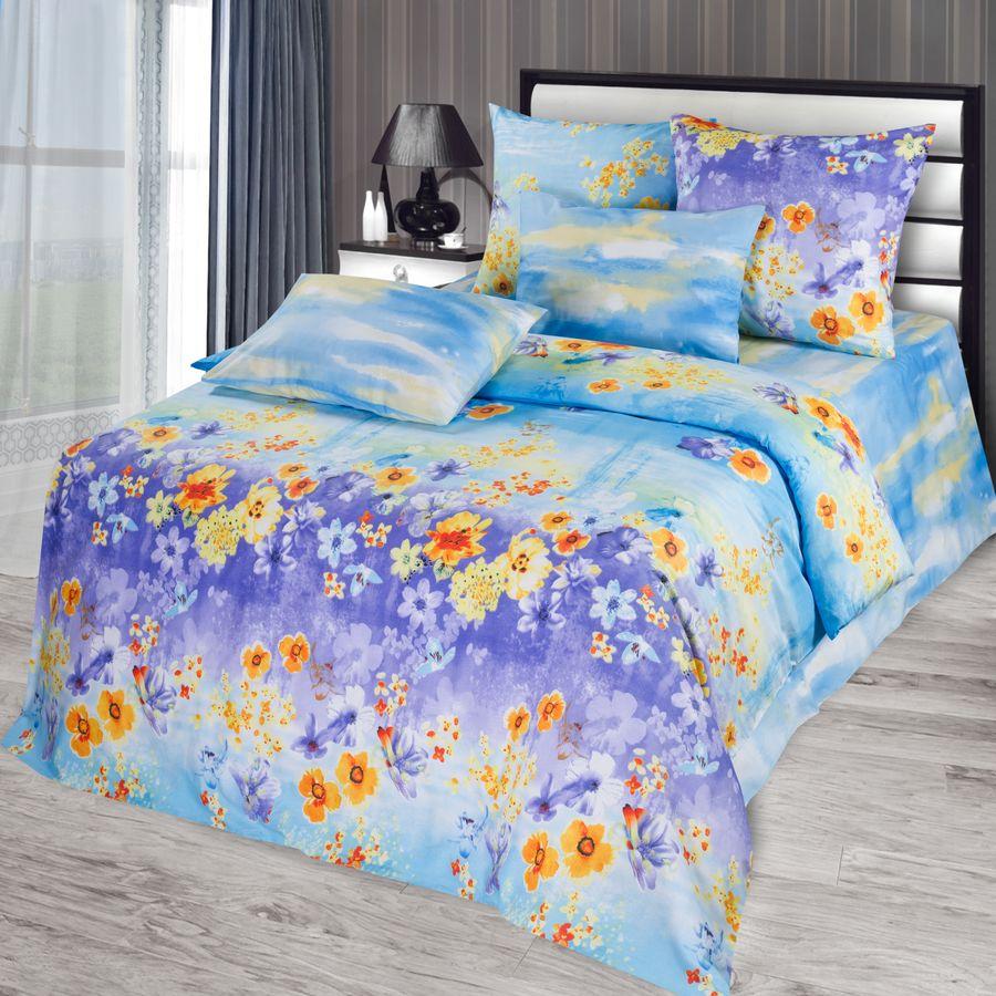"""Постельное белье """"Краски весны"""" (сатин) 1,5 спальный"""