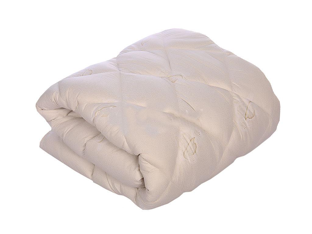 """Одеяло """"Лебяжий пух"""" (стандарт, тик) 1,5 спальный (140*205)"""
