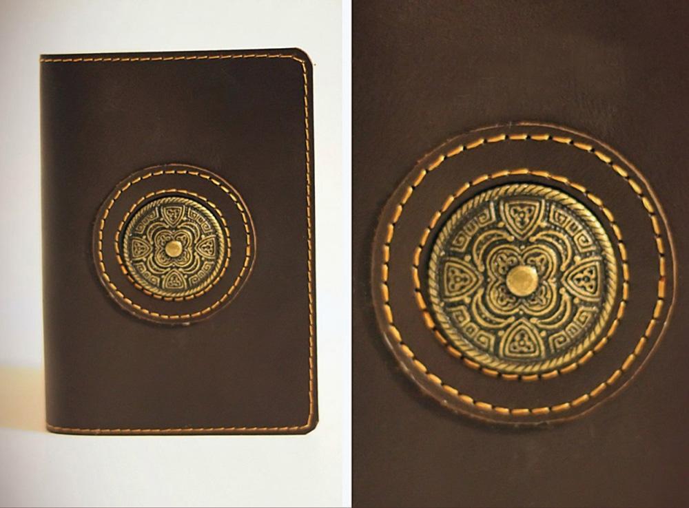 """Обложка для паспорта """"Кембридж"""" от Грандсток"""