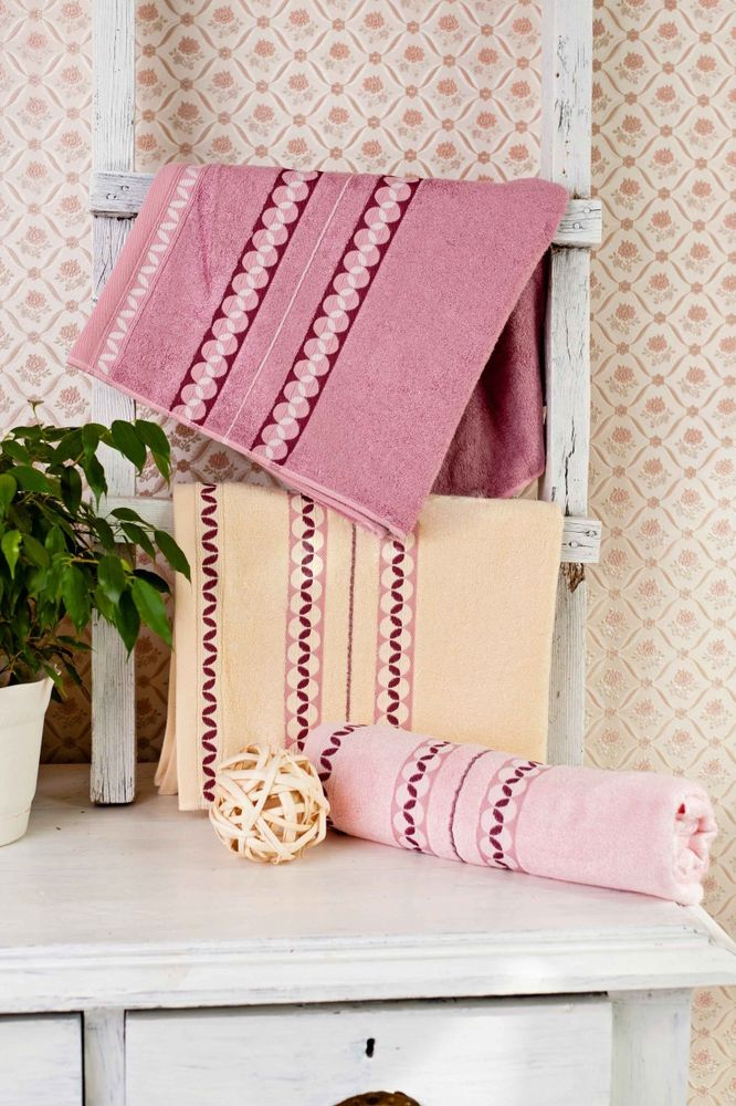 Бамбуковое полотенце Зерна (50х90) цена