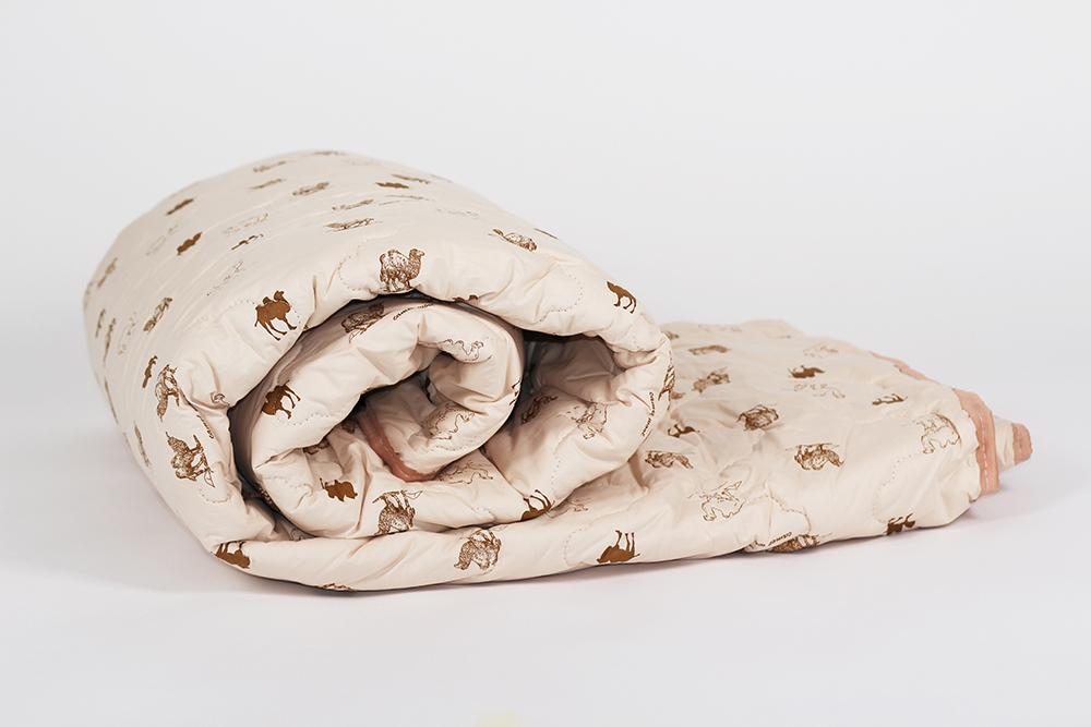 """Одеяло зимнее """"Фантазия"""" (верблюжья шерсть, тик) 2 спальный (172*205)"""