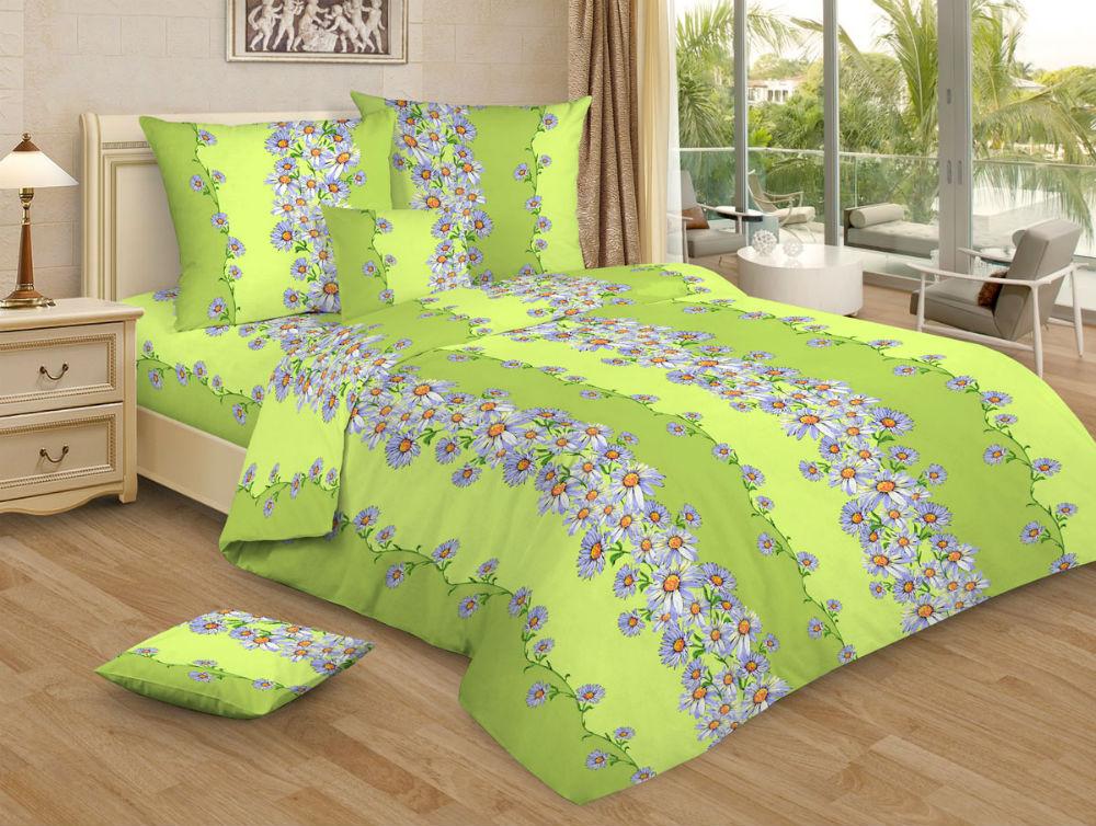 Постельное белье Садовые ромашки GS (бязь) (2 спальный) постельное белье гербарий бежевый gs бязь 2 спальный