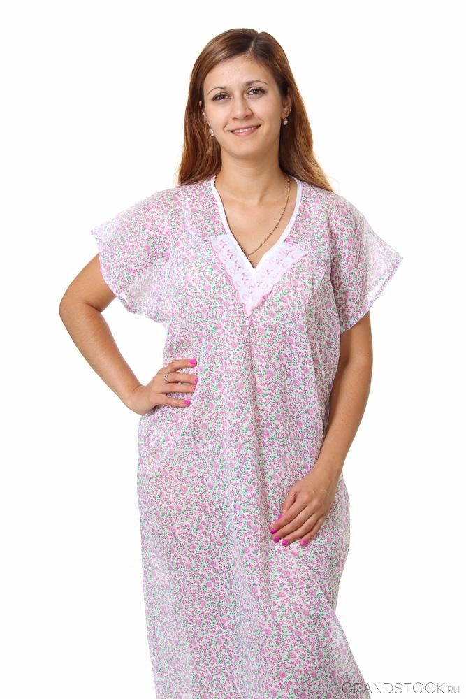 Ночная сорочка #Ипомея#, Размер: 50 - Одежда для сна - Сорочки и ночные рубашки