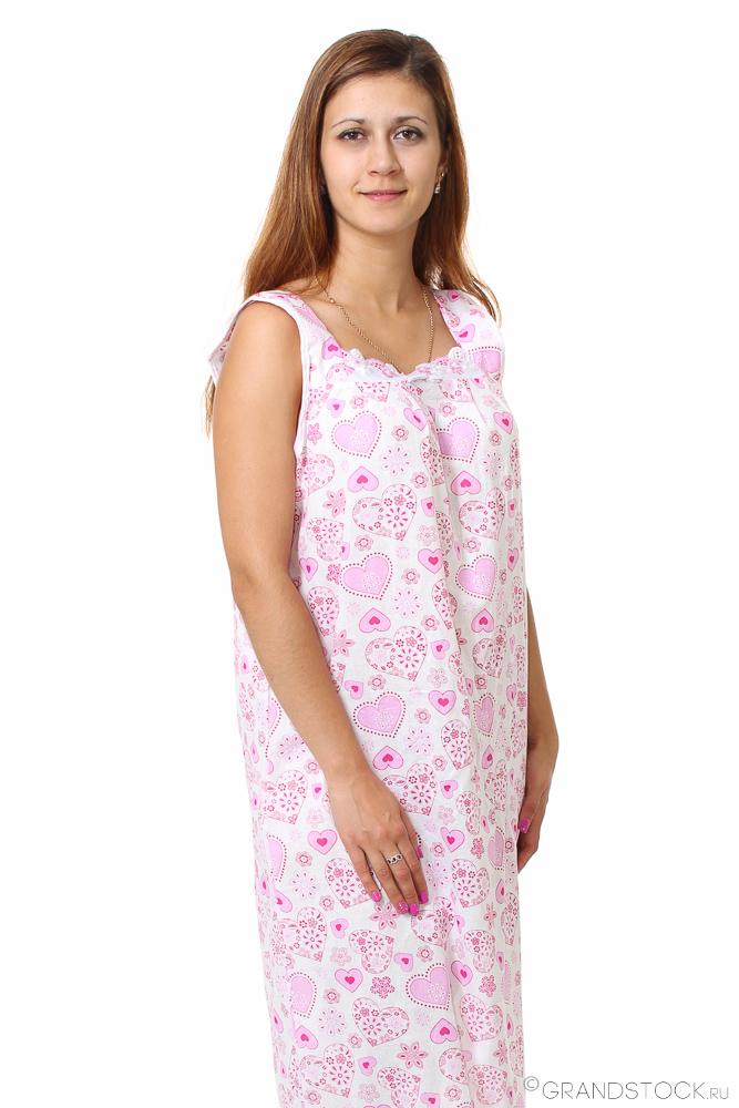 Ночная сорочка #Циния# 50, Размер: 50 - Одежда для сна - Сорочки и ночные рубашки