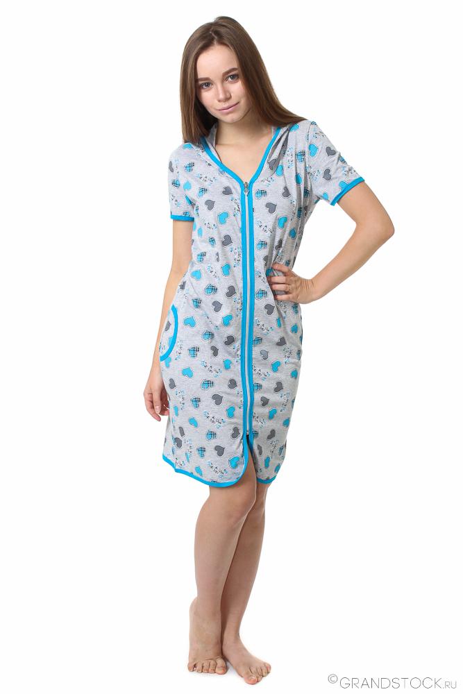Халат женский #Аурелиа# 40, Размер: 40 - Халаты - Легкие халаты