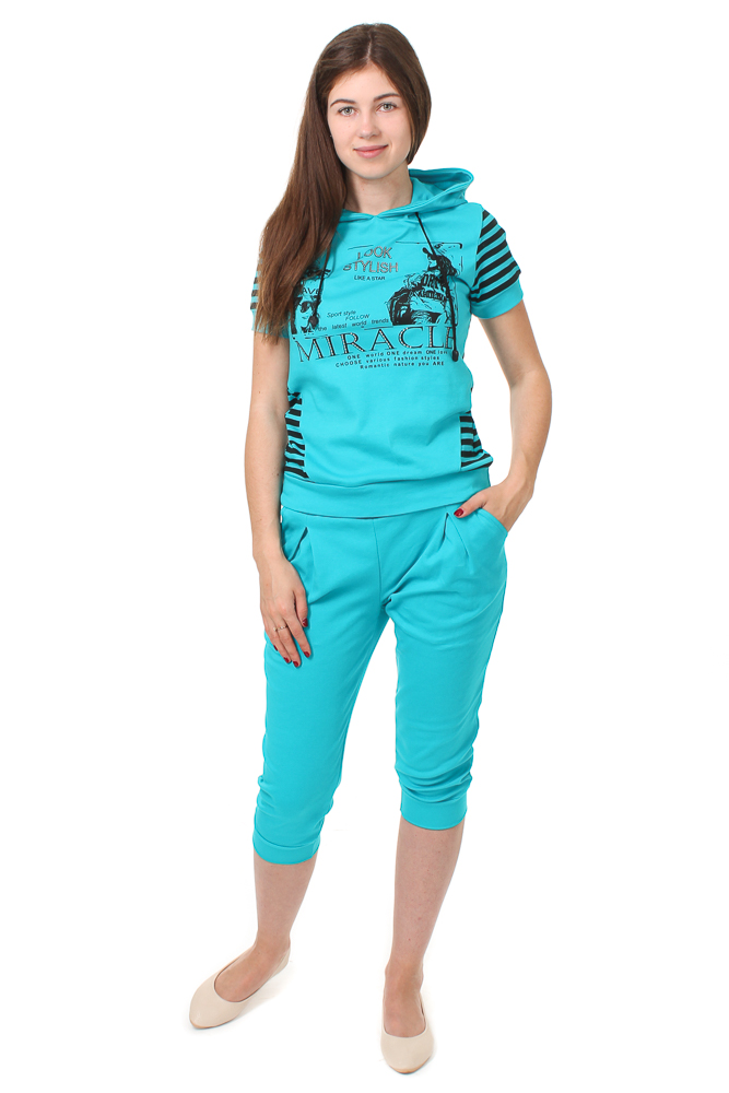 Костюм женский #Чудо# 48, Размер: 48 - Костюмы - Спортивные костюмы