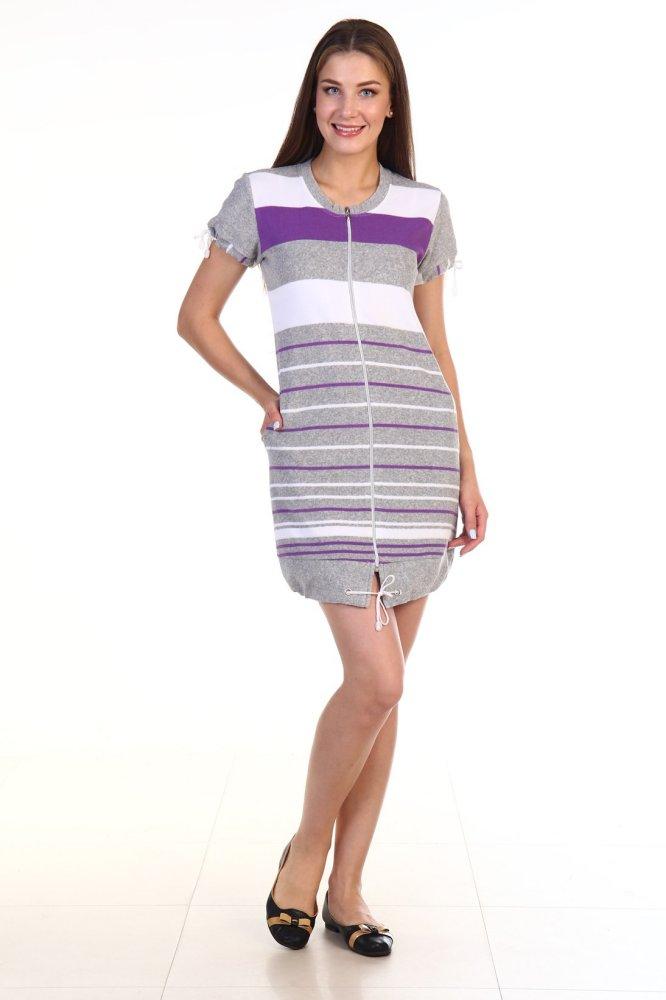 Халат женский #Данала#, Размер: 48 - Халаты - Теплые халаты