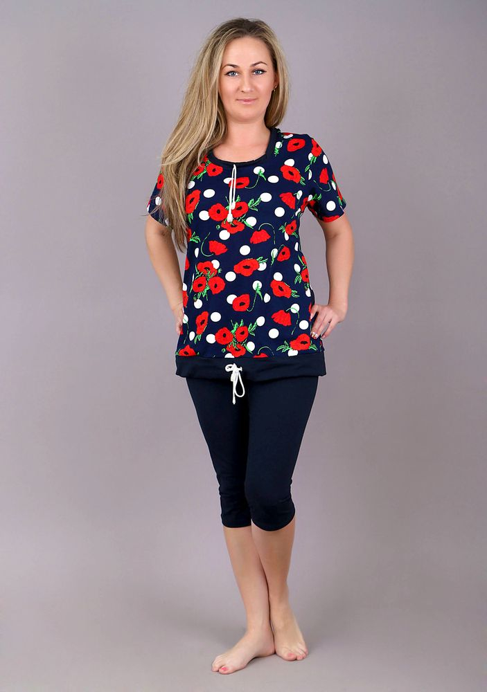 Костюм женский #Стеффи# 54, Размер: 54 - Костюмы - Летние костюмы