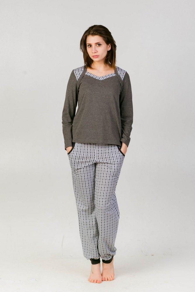 Костюм женский Меланж (44) костюм студенточки 44