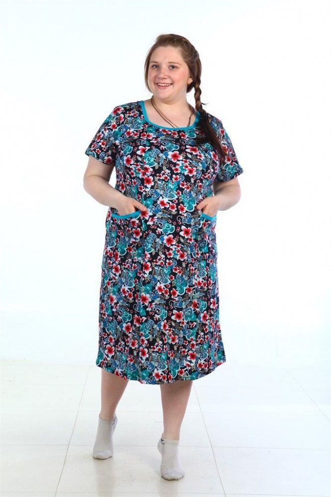 """Платье женское """"Лебедь"""" 48"""