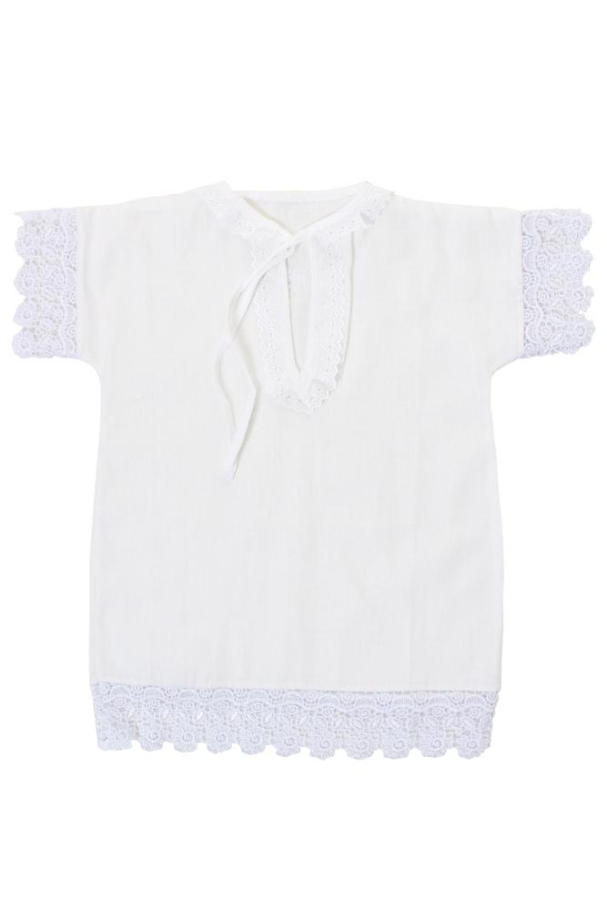 """Рубашка крестильная """"Одуванчик"""" (бязь) от Грандсток"""