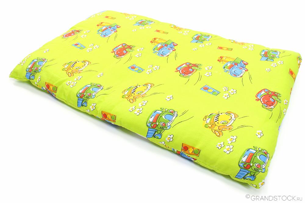 Подушка детская Рыбка (ситец Шуя) (40*60)
