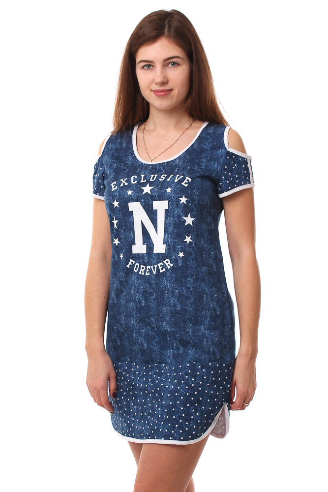 Туника женская #Нью-Джерси# 50, Размер: 50 - Платья и юбки - Туники