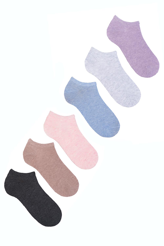 Носки женские Злата (упаковка 6 пар) (23-25) носки женские милашка упаковка 6 пар 23 25