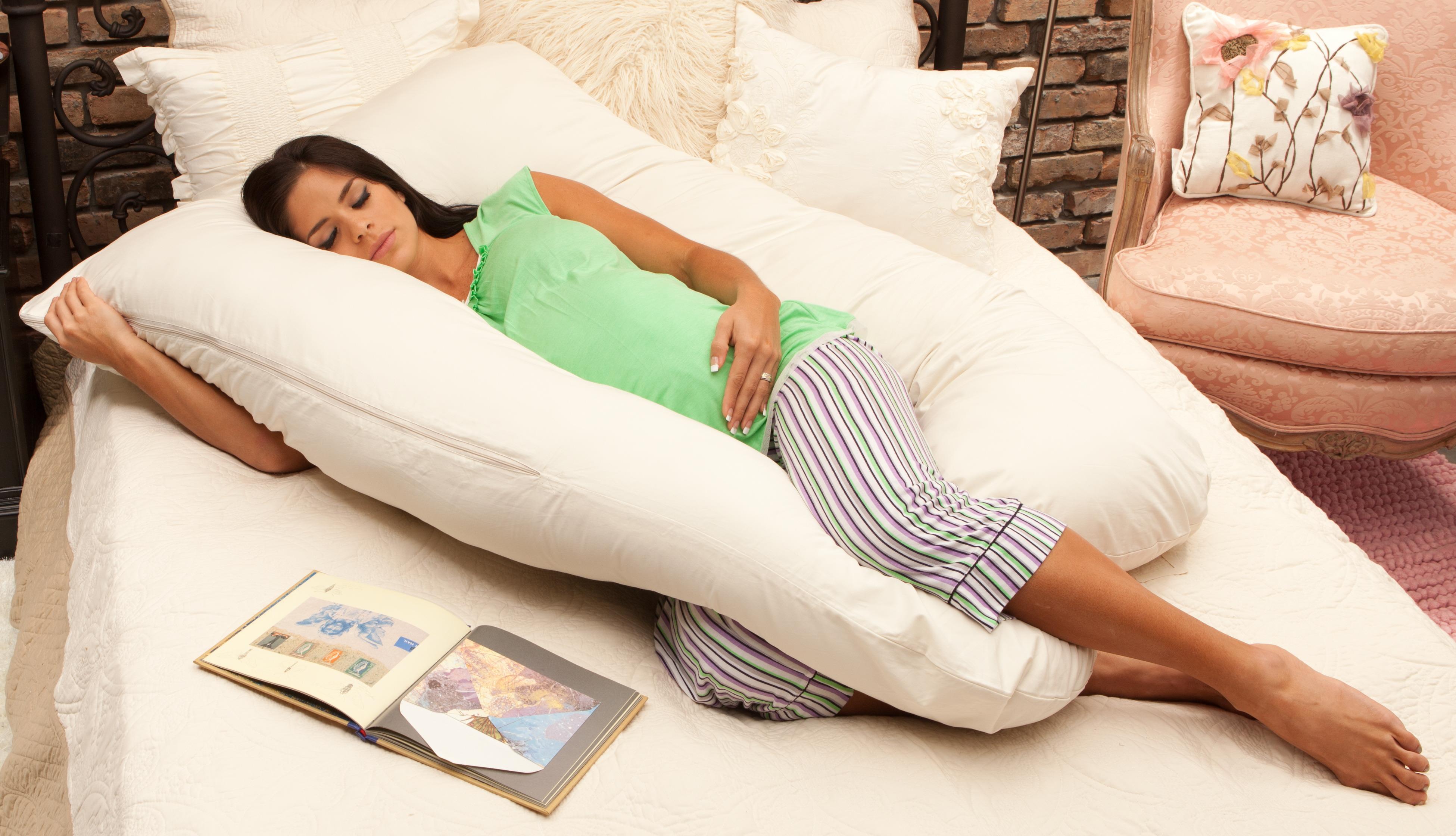 Специальная подушка для сна для беременных 78